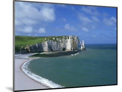 Falaises, Near Etretat, Haute Normandie, France-Hans Peter Merten-Mounted Photographic Print