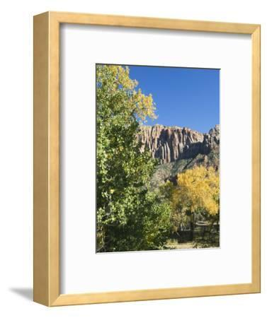 Landscape Near Zion National Park, Utah, United States of America, North America-Robert Harding-Framed Photographic Print