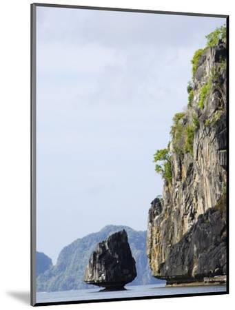 Bacuit Bay, El Nido Town, Palawan Province, Philippines, Southeast Asia-Kober Christian-Mounted Photographic Print
