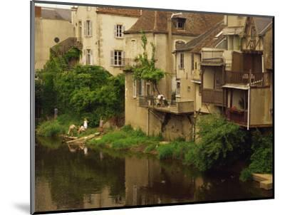 Argenton-Sur-Creuse, Indre, Centre, France, Europe-David Hughes-Mounted Photographic Print