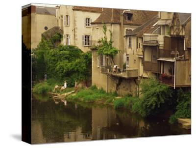 Argenton-Sur-Creuse, Indre, Centre, France, Europe-David Hughes-Stretched Canvas Print