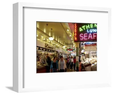 Pike Market, Seattle, Washington State, United States of America, North America-De Mann Jean-Pierre-Framed Photographic Print