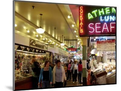 Pike Market, Seattle, Washington State, United States of America, North America-De Mann Jean-Pierre-Mounted Photographic Print