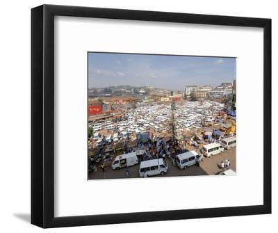 Nakasero Market, Kampala, Uganda, East Africa, Africa-Groenendijk Peter-Framed Photographic Print