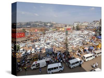 Nakasero Market, Kampala, Uganda, East Africa, Africa-Groenendijk Peter-Stretched Canvas Print