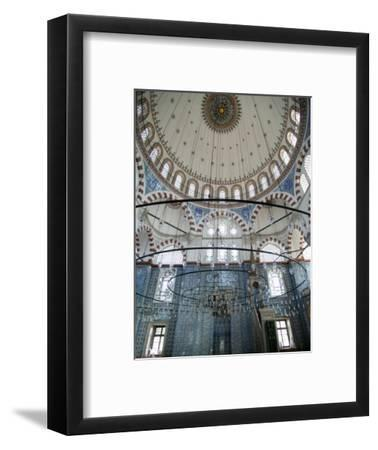 Rustem Pasha Mosque, Istanbul, Turkey, Europe-Godong-Framed Photographic Print