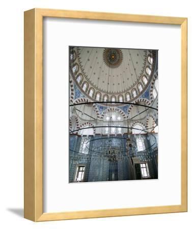 Rustem Pasha Mosque, Istanbul, Turkey, Europe-Godong-Framed Photographic Print