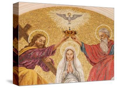 Coronation of the Virgin Mary, Basilica of Fatima, Fatima, Estremadura, Portugal, Europe-Godong-Stretched Canvas Print