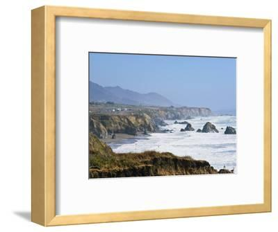 The Northern California Coastline, California, United States of America, North America-Michael DeFreitas-Framed Photographic Print