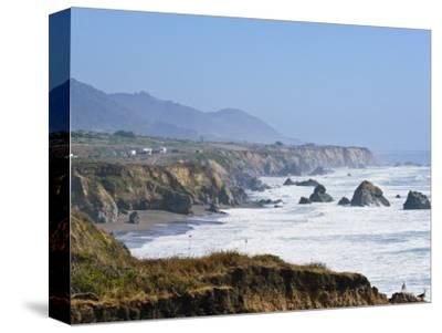 The Northern California Coastline, California, United States of America, North America-Michael DeFreitas-Stretched Canvas Print