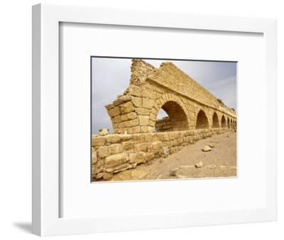 Roman Ruins in Caesarea, Israel, Middle East-Michael DeFreitas-Framed Photographic Print