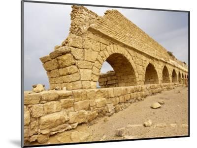 Roman Ruins in Caesarea, Israel, Middle East-Michael DeFreitas-Mounted Photographic Print