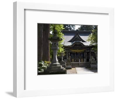 Hiyoshi Shinto Shrine in Echizen-Ono Town, Fukui Prefecture, Japan--Framed Photographic Print