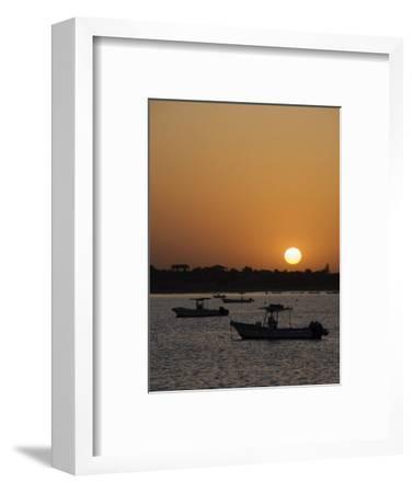 Sunrise at Saly, Senegal, West Africa, Africa-Robert Harding-Framed Photographic Print