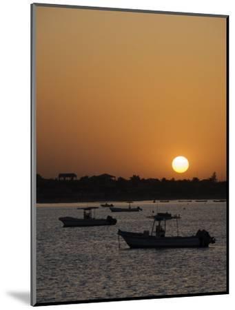 Sunrise at Saly, Senegal, West Africa, Africa-Robert Harding-Mounted Photographic Print