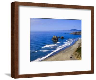 Coastline Near Crescent City, Northern California, United States of America, North America-Michael DeFreitas-Framed Photographic Print