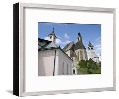 Church, Kitzbuhel, Austria, Europe-Martin Child-Framed Photographic Print