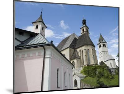 Church, Kitzbuhel, Austria, Europe-Martin Child-Mounted Photographic Print