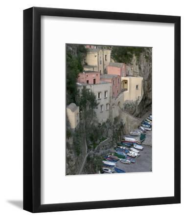 Furore, Amalfi Coast, Campania, Italy, Europe-Marco Cristofori-Framed Photographic Print