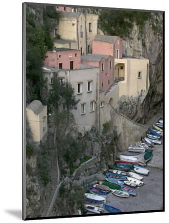 Furore, Amalfi Coast, Campania, Italy, Europe-Marco Cristofori-Mounted Photographic Print