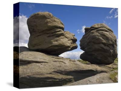 Wain Stones on Bleaklow Moor, Peak District National Park, Derbyshire, England-Neale Clarke-Stretched Canvas Print