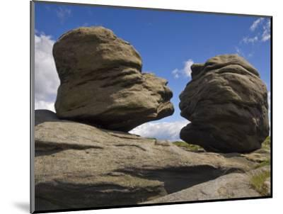 Wain Stones on Bleaklow Moor, Peak District National Park, Derbyshire, England-Neale Clarke-Mounted Photographic Print