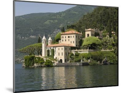 Villa Balbianello, Lake Como, Italy, Europe-James Emmerson-Mounted Photographic Print