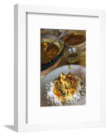 Moqueca Dish, Salvador (Salvador de Bahia), Bahia, Brazil, South America-Yadid Levy-Framed Photographic Print