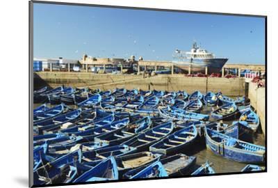 Port, Essaouira, Atlantic Coast, Morocco, North Africa, Africa-Jochen Schlenker-Mounted Photographic Print
