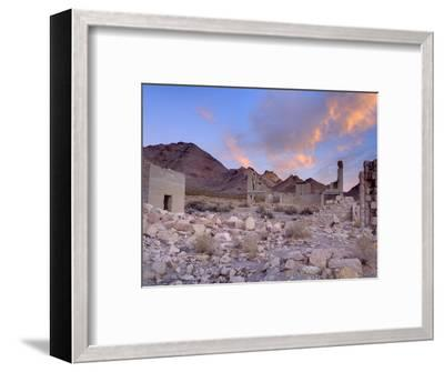 Rhyolite Ghost Town, Beatty, Nevada, United States of America, North America-Richard Cummins-Framed Photographic Print