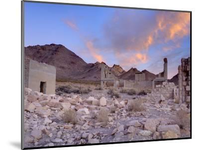 Rhyolite Ghost Town, Beatty, Nevada, United States of America, North America-Richard Cummins-Mounted Photographic Print