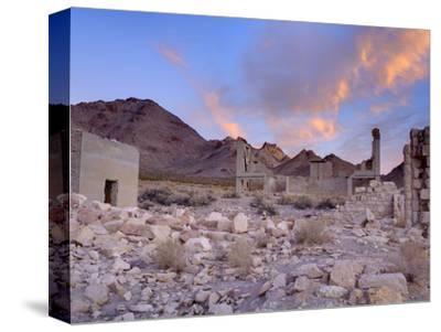 Rhyolite Ghost Town, Beatty, Nevada, United States of America, North America-Richard Cummins-Stretched Canvas Print