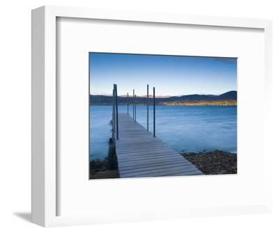 Lake Champlain, Vermont, New England, United States of America, North America-Alan Copson-Framed Photographic Print