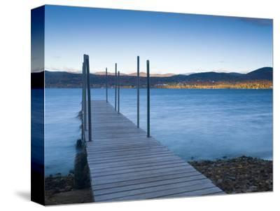 Lake Champlain, Vermont, New England, United States of America, North America-Alan Copson-Stretched Canvas Print