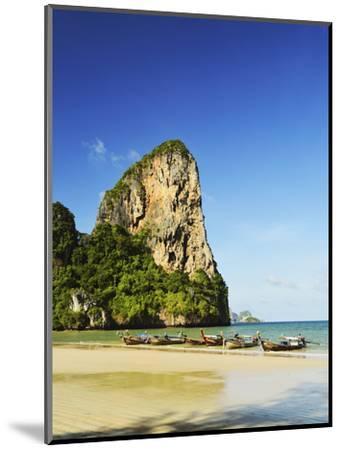 Rai Leh West Beach, Rai Leh (Railay), Andaman Coast, Krabi Province, Thailand, Southeast Asia, Asia-Jochen Schlenker-Mounted Photographic Print