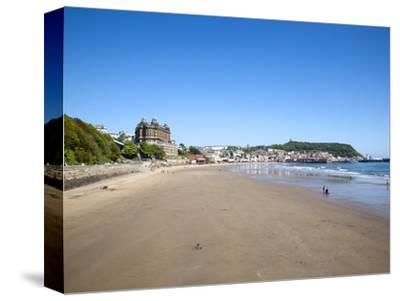 South Sands, Scarborough, North Yorkshire, Yorkshire, England, United Kingdom, Europe-Mark Sunderland-Stretched Canvas Print