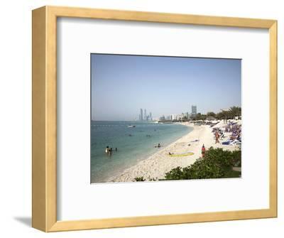 Abu Dhabi, United Arab Emirates, Middle East-Angelo Cavalli-Framed Photographic Print