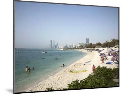 Abu Dhabi, United Arab Emirates, Middle East-Angelo Cavalli-Mounted Photographic Print
