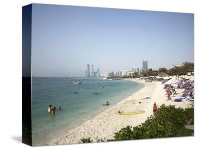 Abu Dhabi, United Arab Emirates, Middle East-Angelo Cavalli-Stretched Canvas Print