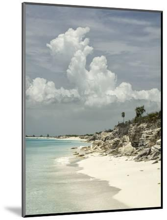 Deserted Island (Cay), Eastern Providenciales, Turks and Caicos Islands, West Indies, Caribbean-Kim Walker-Mounted Photographic Print