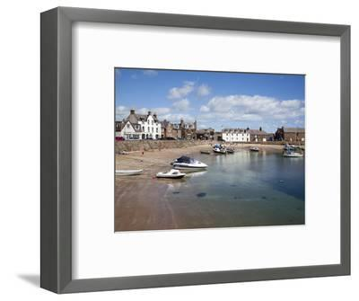 The Harbour at Stonehaven, Aberdeenshire, Scotland, United Kingdom, Europe-Mark Sunderland-Framed Photographic Print