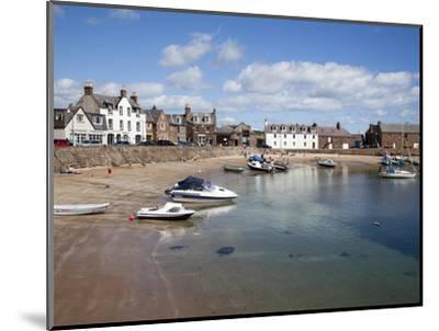 The Harbour at Stonehaven, Aberdeenshire, Scotland, United Kingdom, Europe-Mark Sunderland-Mounted Photographic Print