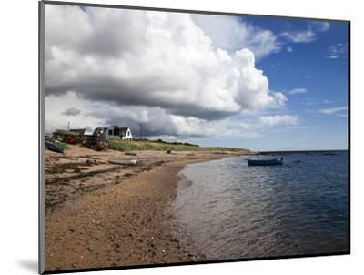 Fishing Boats on the Beach at Carnoustie, Angus, Scotland, United Kingdom, Europe-Mark Sunderland-Mounted Photographic Print