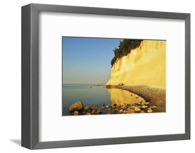 Sunrise at the Chalk Cliffs-Jochen Schlenker-Framed Photographic Print