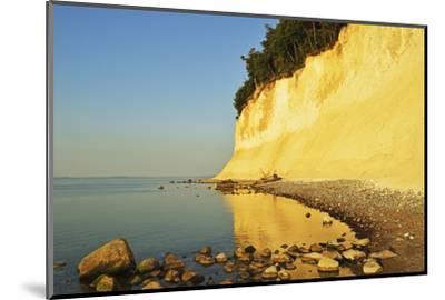 Sunrise at the Chalk Cliffs-Jochen Schlenker-Mounted Photographic Print