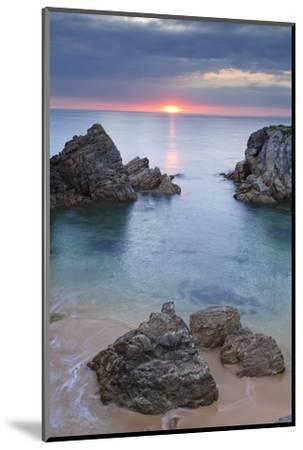 Quiberon Peninsula, Cote Sauvage, Cote De Morbihan, Brittany, France, Europe-Markus Lange-Mounted Photographic Print