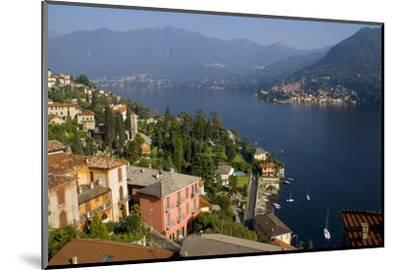 Torno from Moltrasio, Lake Como, Lombardy, Italian Lakes, Italy, Europe-Charles Bowman-Mounted Photographic Print