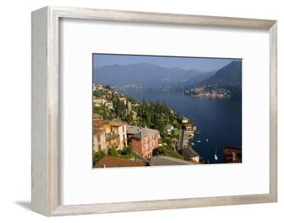 Torno from Moltrasio, Lake Como, Lombardy, Italian Lakes, Italy, Europe-Charles Bowman-Framed Photographic Print
