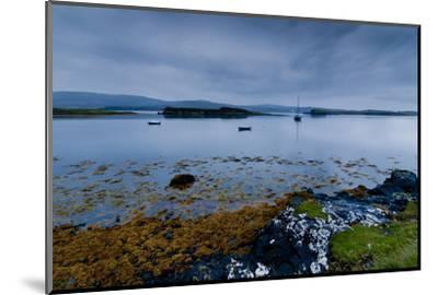 Strange Twilight Seascape of Loch Dunvegan on the Isle of Skye-Charles Bowman-Mounted Photographic Print