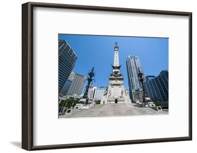Soldiers' and Sailors' Monument, Indianapolis, Indiana, United States of America, North America-Michael Runkel-Framed Photographic Print